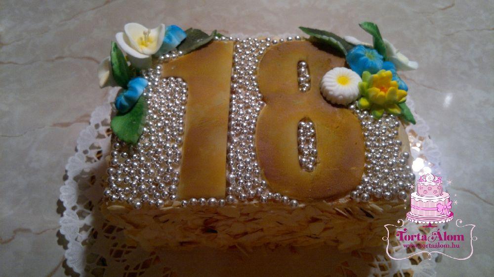 szülinapi torta 18 évesnek Tortaálom | Formatorta | 18 éves szülinapra torta szülinapi torta 18 évesnek